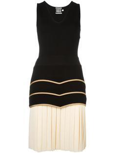 плиссированное платье  Fausto Puglisi
