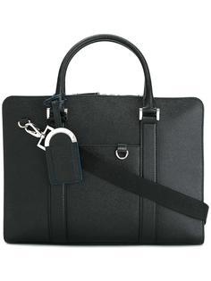 портфель с двойными ручками Bulgari