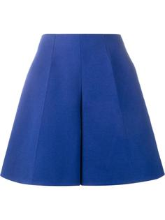 flared bermuda shorts Delpozo