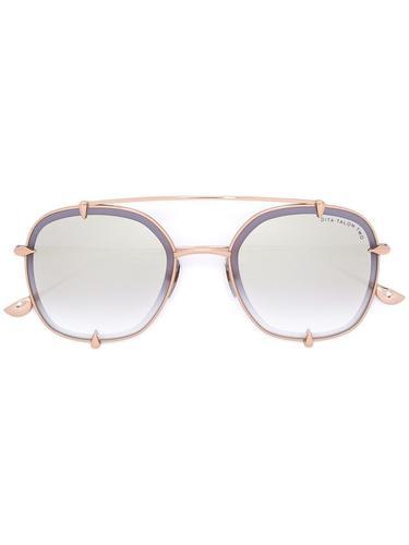солнцезащитные очки в круглой оправе Dita Eyewear