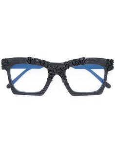 square frame glasses  Kuboraum