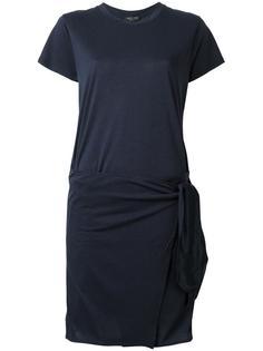 асимметричное платье-рубашка Rag & Bone