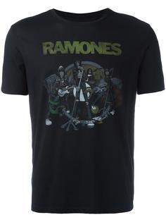 футболка с принтом Ramones John Varvatos