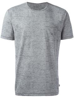 футболка с нагрудным карманом John Varvatos