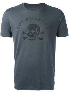 футболка с принтом Skull John Varvatos