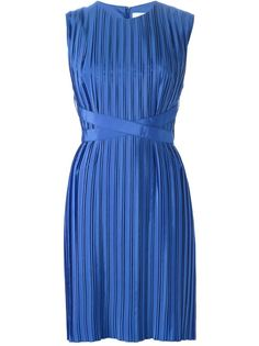 плиссированное платье без рукавов Victoria Victoria Beckham
