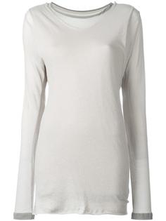 elongated sleeves T-shirt Water