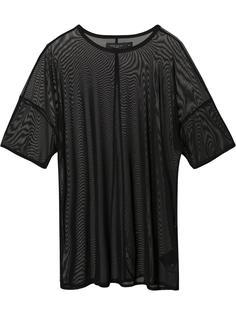 прозрачная футболка Daniel Patrick