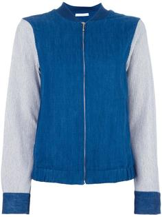 slit back bomber jacket Water