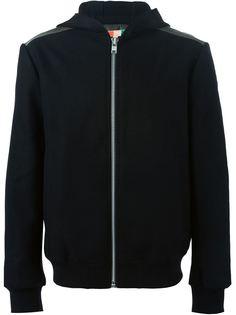 куртка на молнии с капюшоном MSGM