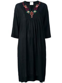 платье с вышивкой Forte Forte