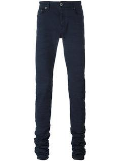 удлиненные обтягивающие брюки Diesel Black Gold