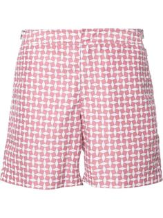 dot print swim shorts Orlebar Brown