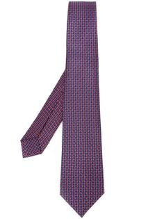 patterned tie Bulgari
