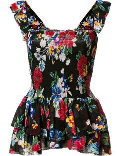 блузка Luna Ruched Babydoll Piamita