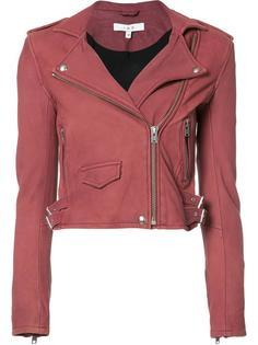 укороченная байкерская куртка Iro