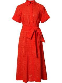 платье-рубашка с поясом Lisa Marie Fernandez