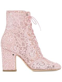 lace milly boots Laurence Dacade