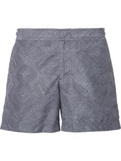 плавательные шорты с геометрическим принтом Orlebar Brown