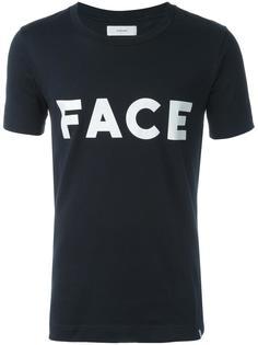 Face print T-shirt Facetasm