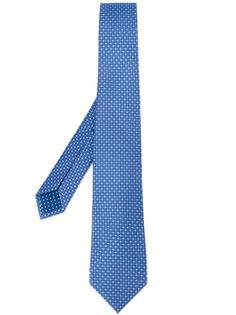 micro print tie Bulgari