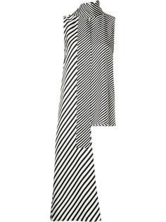 блузка без рукавов с удлиненными завязками Monse