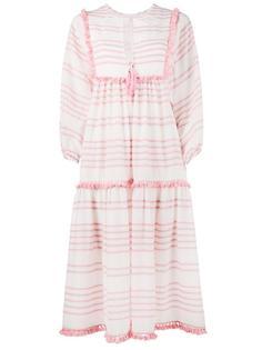 striped valour dress Zimmermann