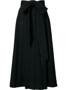 юбка миди с поясом Lisa Marie Fernandez