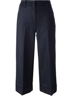 укороченные широкие брюки Moncler