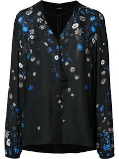 рубашка с цветочным принтом Elie Tahari