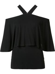cold shoulder top Yigal Azrouel