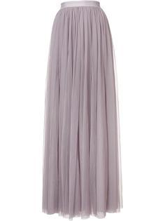 длинная юбка с присборенной отделкой Needle & Thread