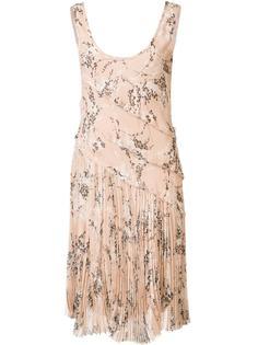 floral pleated dress Jason Wu
