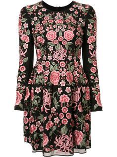 платье с цветочным принтом Needle & Thread