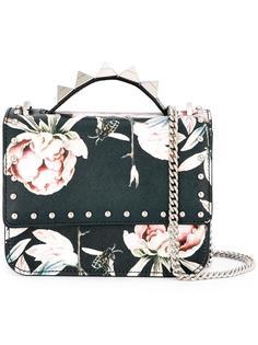 floral print shoulder bag Salar