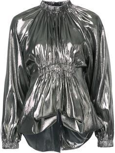 блузка с отделкой металлик Ellery