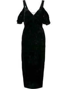платье миди с открытыми плечами Rachel Zoe