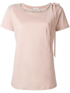 embellished neck T-shirt Twin-Set
