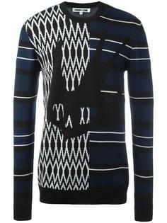 swallow skull intarsia sweater McQ Alexander McQueen