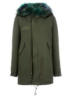 fur trimmed parka Mr & Mrs Italy