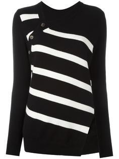 asymmetric striped jumper Proenza Schouler