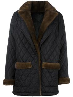 quilted mid jacket Simonetta Ravizza