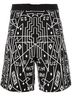 Salomon track shorts Marcelo Burlon County Of Milan