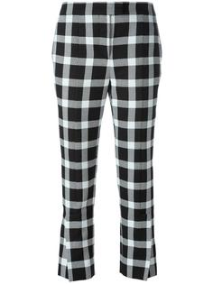 checked trousers Christopher Kane