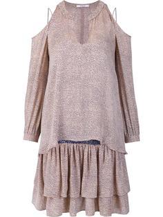 платье с вырезами на плечах Derek Lam 10 Crosby