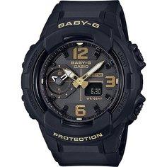 Кварцевые часы женские Casio G-Shock Baby-g 67599 Bga-230-1b Black