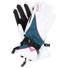 Перчатки сноубордические женские Roxy Big Bear Gloves Bright White