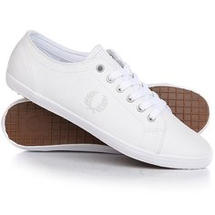 Кеды кроссовки низкие Fred Perry Kingston Leather Real White