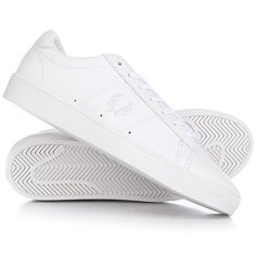 Кеды кроссовки низкие Fred Perry Spencer Leather Real White