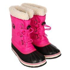 Сапоги зимние детские Sorel Yoot Pac Nylon Haute An Pink